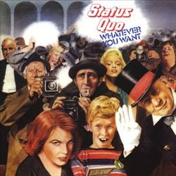 Status Quo - Whatever You Want CD (album) cover