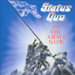 Status Quo - In The Army Now CD (album) cover