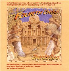 Status Quo - In Search Of The Fourth Chord CD (album) cover