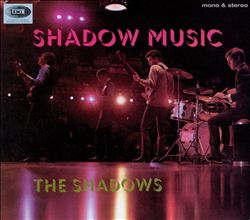 The Shadows - Shadow Music CD (album) cover