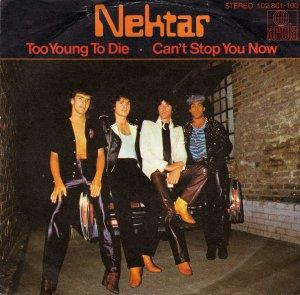 Nektar - Too Young To Die CD (album) cover