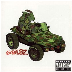 GORILLAZ - Gorillaz CD album cover