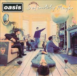 OASIS - Definitely Maybe CD album cover