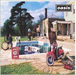 Oasis - Be Here Now CD (album) cover