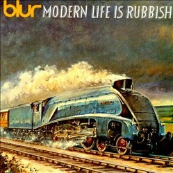 Blur - Modern Life Is Rubbish CD (album) cover