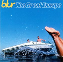 Blur - The Great Escape CD (album) cover