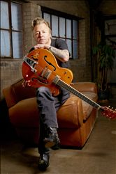 BRIAN SETZER image groupe band picture