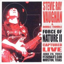 Stevie Ray Vaughan - Force Of Nature Ii CD (album) cover