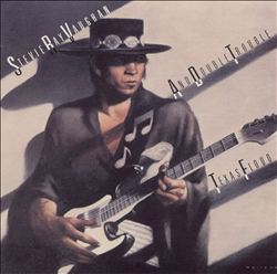 STEVIE RAY VAUGHAN - Texas Flood CD album cover