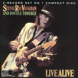 Stevie Ray Vaughan - Live Alive CD (album) cover