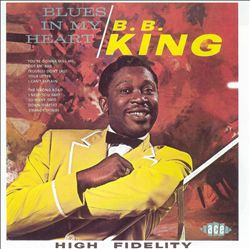 B.b.  King - Blues In My Heart CD (album) cover