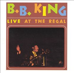 B.B.  KING - Live At The Regal CD album cover