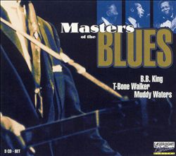 B.b.  King - The Masters Of The Blues [delta] CD (album) cover