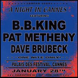 B.b.  King - A Night In Cannes CD (album) cover