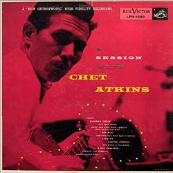 Chet Atkins - A Session With Chet Atkins CD (album) cover
