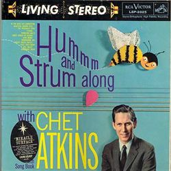 Chet Atkins - Hum & Strum Along With Chet Atkins CD (album) cover