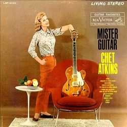 Chet Atkins - Mister Guitar CD (album) cover