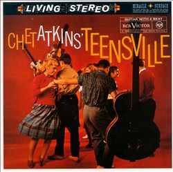Chet Atkins - Teensville CD (album) cover