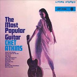 Chet Atkins - The Most Popular Guitar CD (album) cover