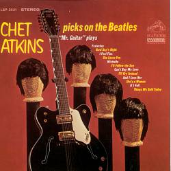 Chet Atkins - Chet Atkins Picks On The Beatles CD (album) cover
