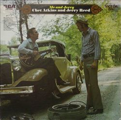 Chet Atkins - Me & Jerry CD (album) cover