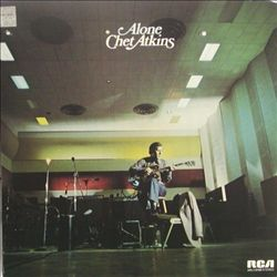 Chet Atkins - Alone CD (album) cover