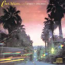 Chet Atkins - Street Dreams CD (album) cover