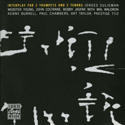 John Coltrane - Interplay For 2 Trumpets And 2 Tenors CD (album) cover