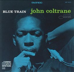 JOHN COLTRANE - Blue Train CD album cover