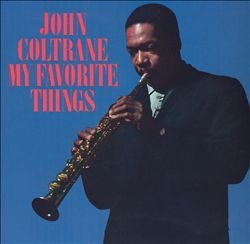 JOHN COLTRANE - My Favorite Things CD album cover