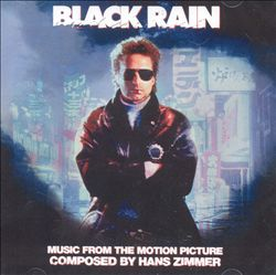 Hans Zimmer - Black Rain CD (album) cover
