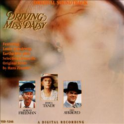 Hans Zimmer - Driving Miss Daisy CD (album) cover