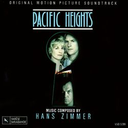 Hans Zimmer - Pacific Heights CD (album) cover