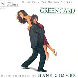 Hans Zimmer - Green Card CD (album) cover