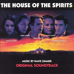 Hans Zimmer - The House Of The Spirits CD (album) cover