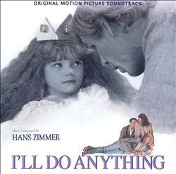 Hans Zimmer - I'll Do Anything CD (album) cover