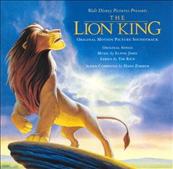 Hans Zimmer - The Lion King CD (album) cover