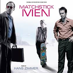 Hans Zimmer - Matchstick Men CD (album) cover