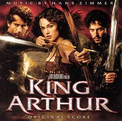 Hans Zimmer - King Arthur CD (album) cover