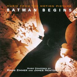 Hans Zimmer - Batman Begins CD (album) cover
