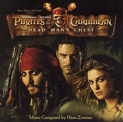 Hans Zimmer - Pirates Of The Caribbean: Dead Man's Chest CD (album) cover