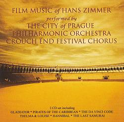 Hans Zimmer - Film Music Of Hans Zimmer CD (album) cover