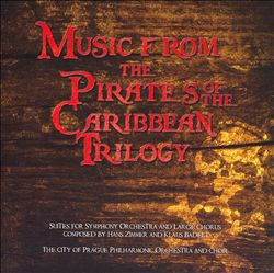 Hans Zimmer - Pirates Of The Caribbean Trilogy CD (album) cover