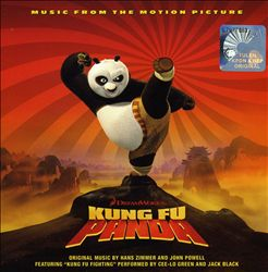 Hans Zimmer - Kung Fu Panda [asia Version] CD (album) cover