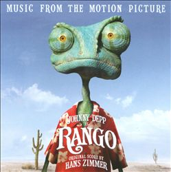 Hans Zimmer - Rango: Music From The Motion Picture CD (album) cover