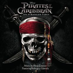 Hans Zimmer - Pirates Of The Caribbean: On Stranger Tides CD (album) cover