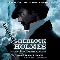 Hans Zimmer - Sherlock Holmes: A Game Of Shadows CD (album) cover