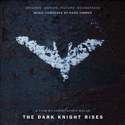 Hans Zimmer - The Dark Knight Rises CD (album) cover