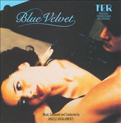Angelo Badalamenti - Blue Velvet CD (album) cover