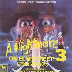 Angelo Badalamenti - Nightmare On Elm Street 3: The Dream Warriors CD (album) cover
